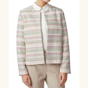 Eastex Stripe Edge-to-Edge Jacket